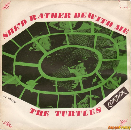 Turtles, The - She'd Rather Be With Me / Makin' My Mind Up